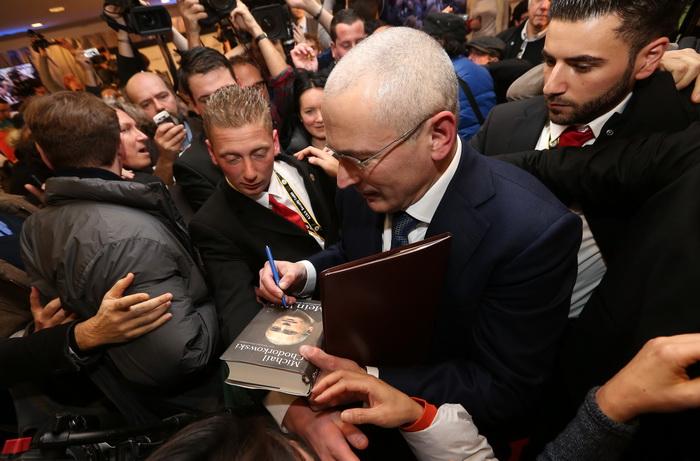 Михаил Ходорковский после освобождения. Фото: Sean Gallup/Getty Images