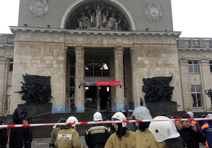 Теракт на железнодорожном вокзале  Волгограда: 16 человек погибли. Фото: STRINGER/AFP/Getty Images