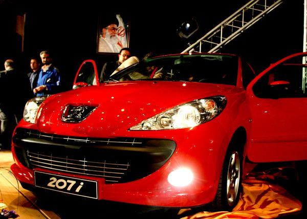 Peugeot 207 - пятое место в рейтинге самых продаваемых авто  в октябре 2010 года по данным JATO Dynamics. Фото: ATTA KENARE/AFP/Getty Images
