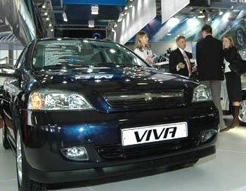 Та самая Viva, которую сняли с производства в 2008 году, выпустив 4000 машин, начиная с 2004 года. Фото c www.sostav.ru