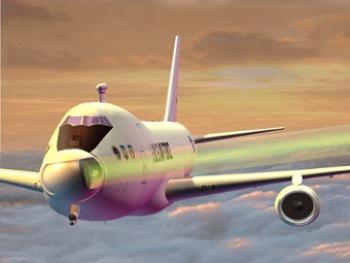 Boeing 747-400F с установленным лазером. Изображение с boeing.com