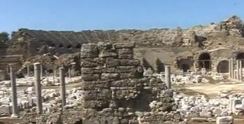 Кругосветное путешествие - город Сиде (Турция). В поисках древних технологий