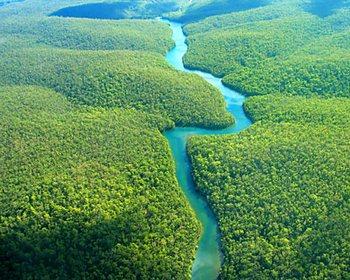 В Бразилии обнаружена подземная Амазонка. Фото с hronoblog.blogspot.com