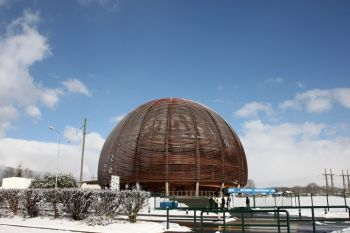 Общий вид CERN (Европейская организация ядерных исследований) 12 февраля 2009 года, Женева, Швейцария. (Zunino Celotto/Getty Images)