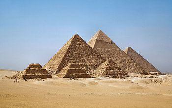 В Египте нашли новые пирамиды с помощью спутника . Фото с helpernews.ru