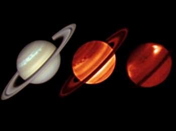 На Сатурне бушует гигантский шторм. Фльл с oko-planet.su