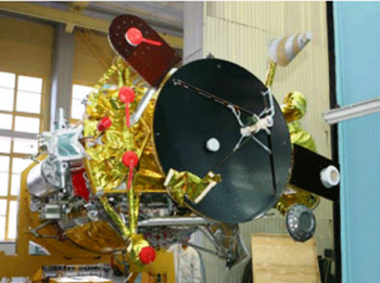 Потерянный спутник нашли на нерасчётной орбите. Фото с rusnovosti.ru