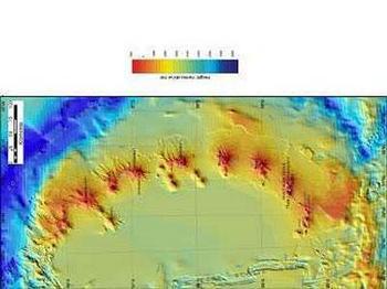 В районе  Антарктики найдены подводные вулканы. Фото с donbass.ua
