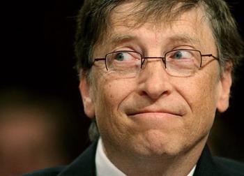Основатель компании Microsoft Билл Гейтс,Фото с сайта battle-creek.blogspot.com