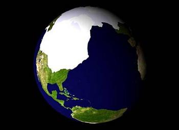 Хотя быстрые изменения климата на Земле и называют глобальным потеплением, они включают в себя и глобальное похолодание (иллюстрация johnstonsarchive.net).