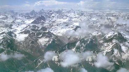 Ледники и горные вершины Гималаев. Фото с сайта:nature.worldstreasure