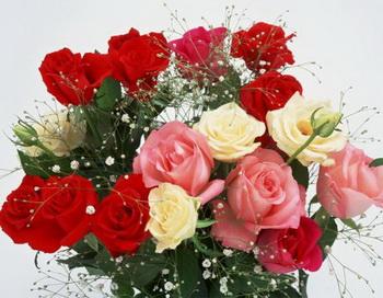 Как сохранить от увядания букет цветов. Фото с flowersoffantasy.ru