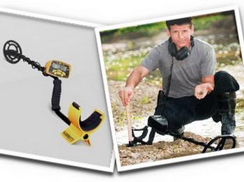 Как найти что-то ценное с помощью металлоискателя? Фото: garrett-shop.ru