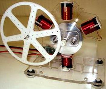 Презентация магнитного генератора Бедини на радиантной энергии. Фото с сайта webwarper.net