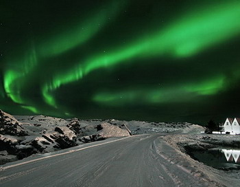 Северное сияние. Фото: Orvar Atli Юorgeirsson/Getty Images