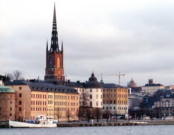 Стокгольм. Фото РИА Новости