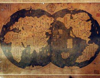 Древние карты. Фото с сайта  lah.ru