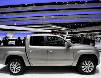 Volkswagen Amarok будет продваться в России  Фото: Miguel VILLAGRAN/Getty Images