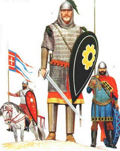 Костюм византийского воина. Фото: allday.ru