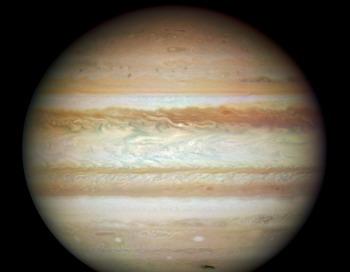 Юпитер подойдет к Земле на максимально близкое расстояние. Фото: Hubble SM4 ERO Team/Getty Images