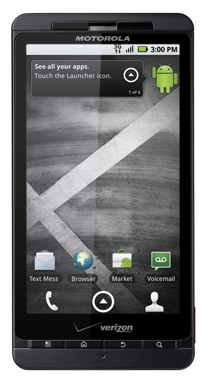Android-смартфон Motorola Droid X. Фотообзор. Фото с сайта blog.seattletimes.nwsource.com
