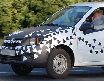 Lada Granta(Лада Гранта), как новый бюджетный автомобиль от  «АвтоВАЗа», начнет сходить с конвейера осенью 2011 года. Фото с сайта hobbymall.ru