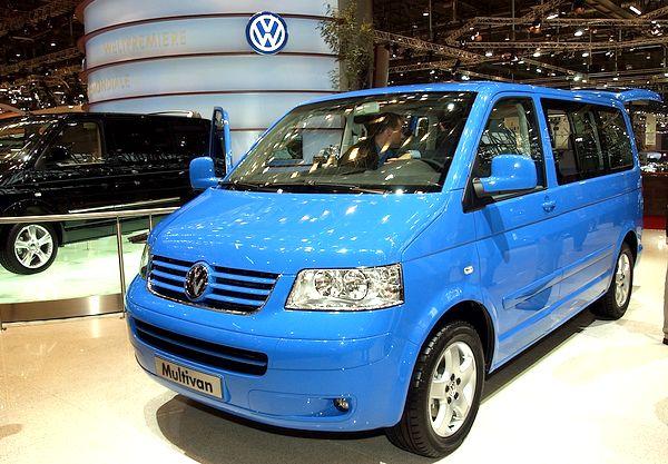 Volkswagen Multivan, который собирается в Калуге методом крупноузловой сборки (метод SKD). Фото: Giuseppe Cacace/Getty Images