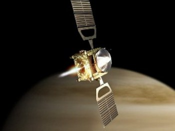 Космический аппарат «Акацуки» («Рассвет») не смог выйти на орбиту Венеры. Фото с сайта  lenta.ru