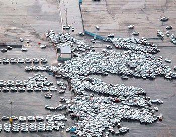Масштабное цунами на тихоокеанском побережье Японии смыло в море порядка 2300 новых легковых автомобилей Nissan и Infiniti, приготовленных для отправки дилерам. Фото с сайта autonews.ru
