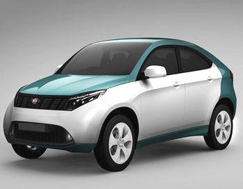 «Ё-мобиль» теперь приобрел в своей модельной линейке новый кросс-купе в виде пятидверного  хэтчбека. Фото с сайта avto.mail.ru
