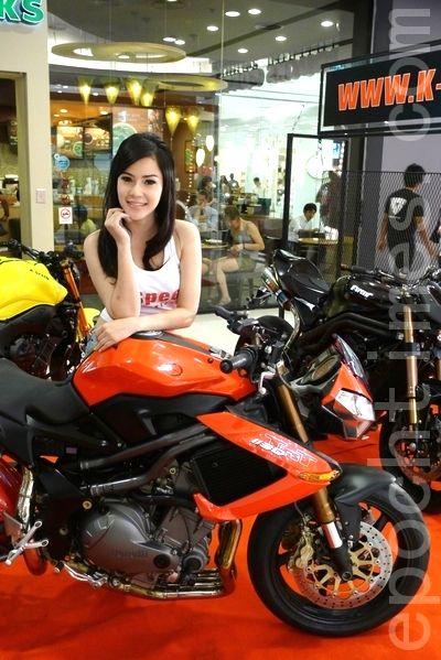 Фестиваль мотоциклов в Банкоке. Фото: Кан Бен / The Epoch Times
