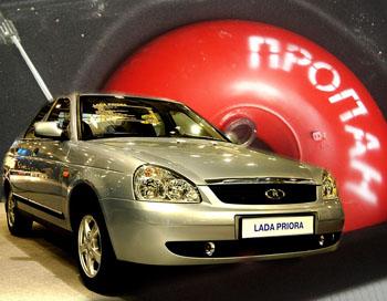 Выпускаться Lada Priora CNG будет на основном конвейере вместе с «бензиновыми» «Приорами». Фото: auto.lenta.ru