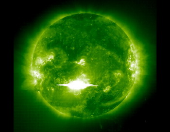 Солнце. Фото: Solar & Heliospheric Observatory/NASA via Getty Images