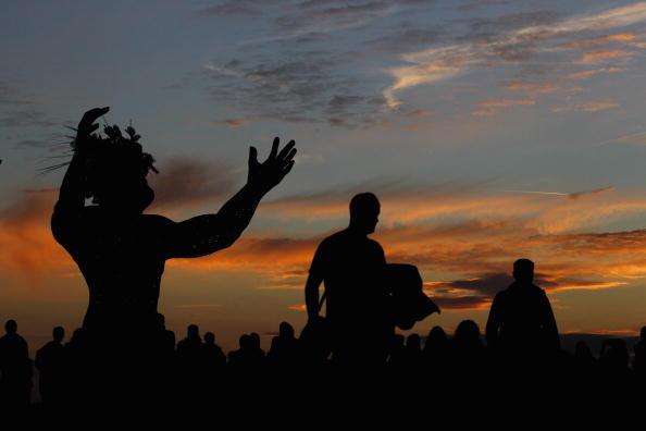 В последних лучах заходящего Солнца. Фоторепортаж. Фото: Matt Cardy/Getty Images