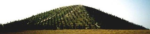 В Китае найдены пирамиды. Фото предоставлено Андреем Скляровым.
