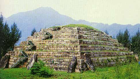Пирамида близ места под названием Ziban. Фото предоставлено Андреем Скляровым.