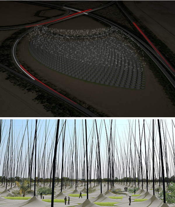 Разработан проект ветрофермы без ветряков. Фото с сайта atelierdna.com
