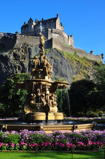 Замок Эдинбург. Фото с сайта flickr.com