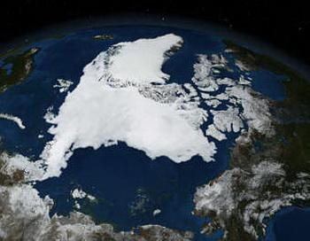 Европейский спутник увидел таяние Арктики. Фото с сайта nauka21vek.ru