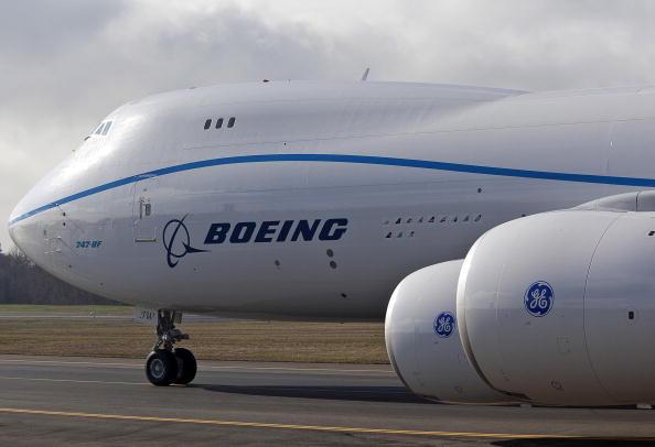 Грузовой Boeing 747-8. Фото: Stephen Brashear/Getty Images