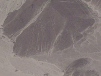 Пустыня Наска в Перу, аэрофотосъёмка. Фото: Rafael Gorski/Flickr.com