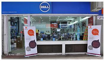 Магазин Dell в Нью-Дели готов к продвижению Ubuntu. Фото: omgubuntu.com