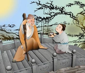 Чжан Лян был также известен своей терпимостью и уважением к пожилым людям. Иллюстрация: Катерина Чан/Великая Эпоха (The Epoch Times)