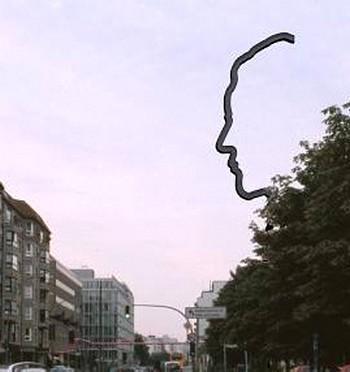 17-метровая стальная скульптура над Берлином: память о Георге Эльзере. Фото: georg-elser-arb