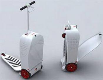 Чемодан-скутер доставит вас в аэропорт. Фото: uraltourism.ru