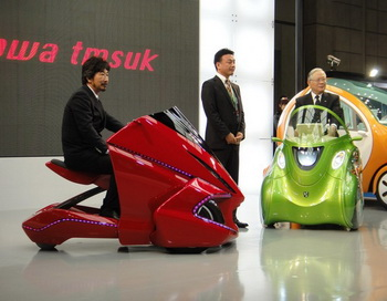 Новый электромобиль Kobot. Фото: computerra.ru