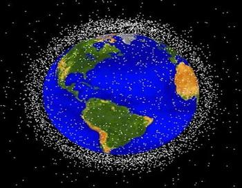 Спутник - «дворник» уберёт космический мусор. Фото: NASA