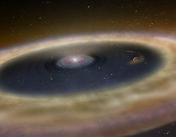 Как рождается планета. Фото: NASA