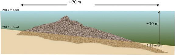 Пирамида обнаружена в Галилейском море. Изображение с сайта globalscience.ru