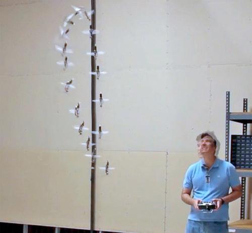 Робот-шпион  колибри прошёл лётные испытания. Фото: phys.org